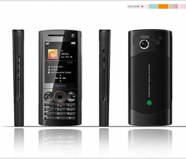 Quad Band Dual Sims Mobile Phone with camera tv