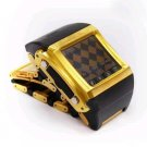 24K Gold Quad-band Watch Phone