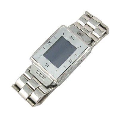 Pure Metal Quad-band Watch Phone