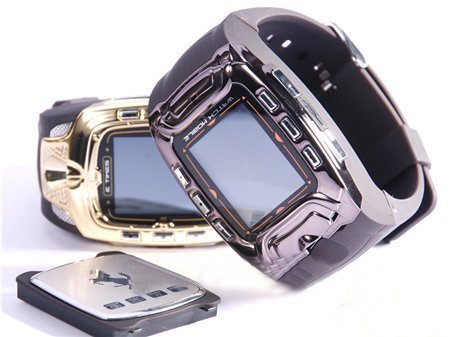 Quad-band Watch Cell Phone with Camera