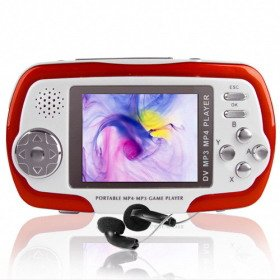 4GB 2.4 Inch MP4 Player with Digital Camera