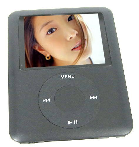 16GB 1.8 Inch LCD TFT Color Display MP4 Player - Black Colour