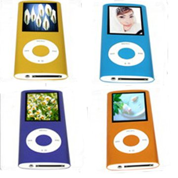 8GB 1.8 Inch TFT MP4 Player with Scroll Touch Button