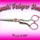 Kaen 5.5 inch Professional Designer Hair Shears / Scissors