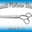 Kissaki Platinum Series Pro Hair Stylist 6 inch Ishizuki 11 tooth Chunker Shears Thinning Scissors