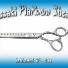 Kissaki Platinum Series Pro Hair Stylist 6 inch Ishizuki 11 tooth Chunker Shears Thinning Scissors