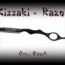 Kissaki Onyx Black Lightweight Professional Hair Styling Feathering Razor / Salon