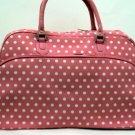 Polka Dot Print Travel Bag