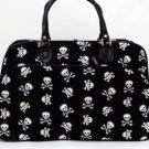 Travel Bag Skulls and Crossbones Print
