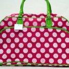 Pink Polka Dot Travel Bag