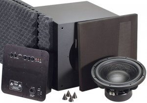 "DAYTON T1203K 12"" 500 WATTS RMS POWERED SUBWOOFER KIT"