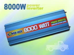 POWER JACK POWER INVERTER 16000 WATTS MAX 8000 WATTS