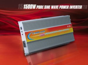 POWER JACK PURE SINE WAVE POWER INVERTER 3000 WATTS MAX 1500 WATTS