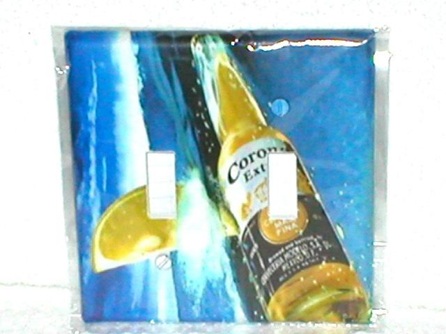 CORONA AND LIME BAR/PUB STYLE LIGHT SWITCHPLATE COVER