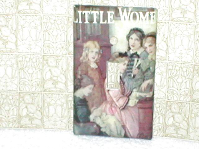 LITTLE WOMEN~DECORATIVE BOOK COVER STYLE SWITCHPLATE