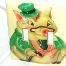 VINTAGE STYLE~PIG COOKIE JAR DESIGN~LIGHT SWITCHPLATE COVER