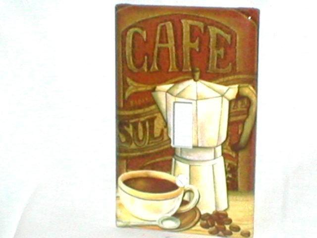 COFFFEE~ESPRESSO DESIGN~DECORATIVE LIGHT SWITCHPLATE