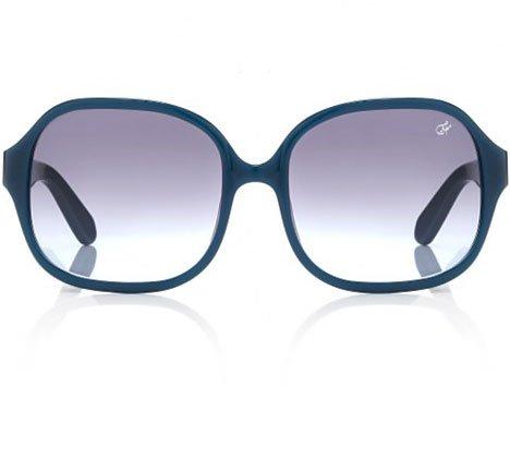 Proenza Schouler Oversized Square Sunglasses - Cerulean Blue