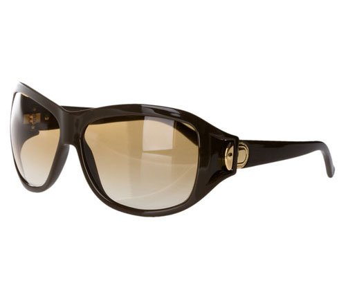 Marc Jacobs Gold Buckle Oversized Sunglasses