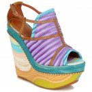 Missoni Peep Toe Platform Wedge - EU39.5 - US9.5