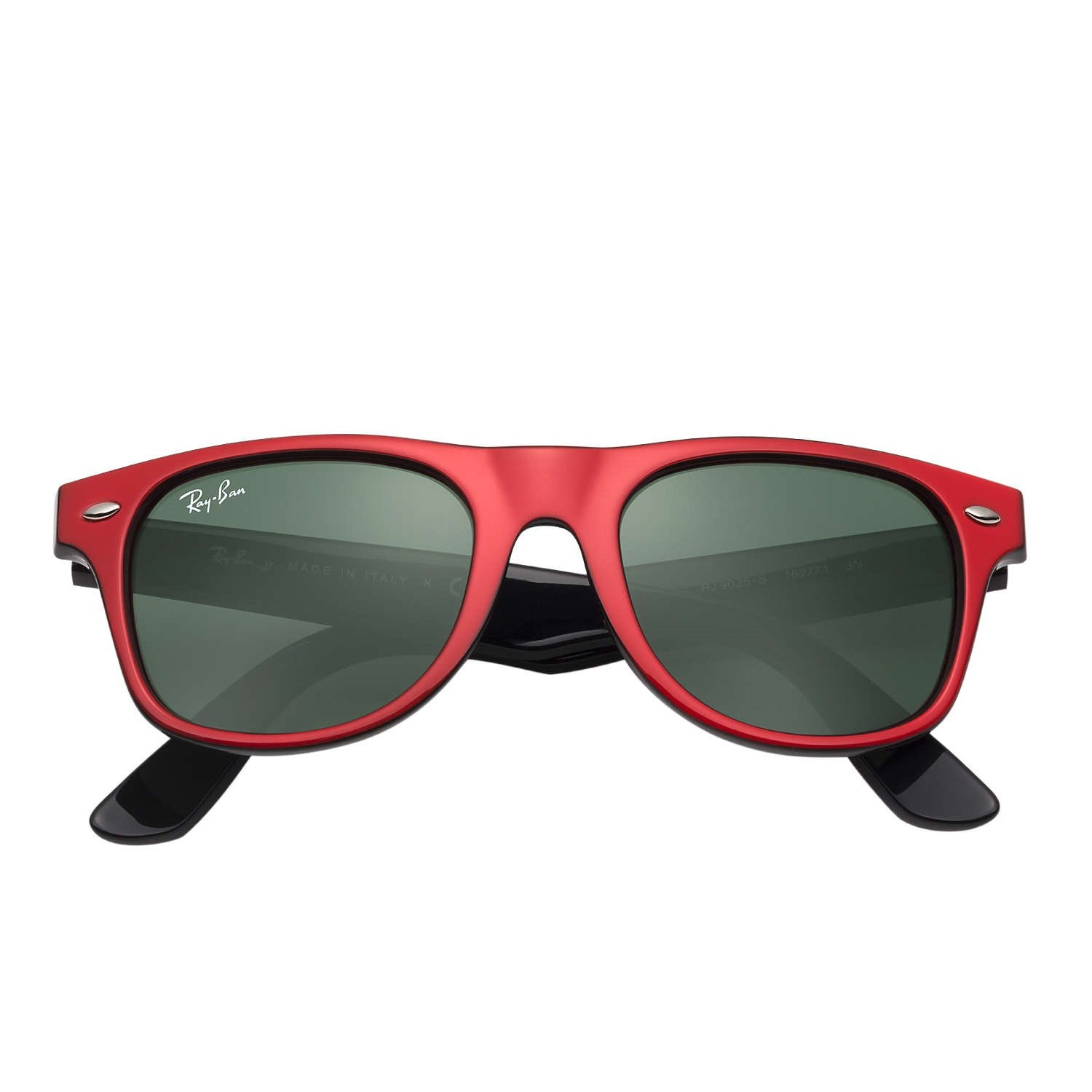 Ray-Ban Jr Wayfarer Sunglasses - Red/Black - 44mm