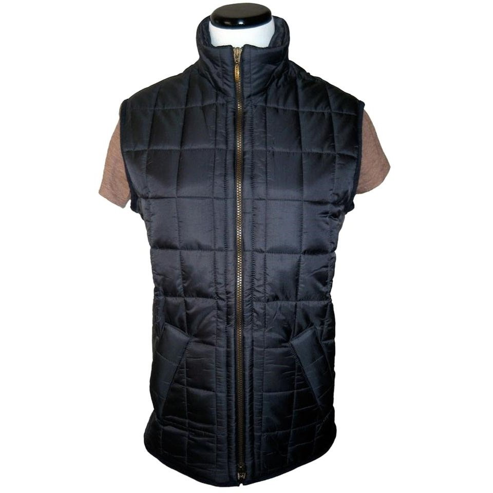 Barbour Ladies Quilted Gilet - UK 12 - US 8 - Navy