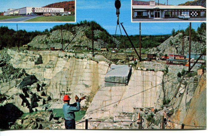 Rock of Ages Quarry Vermont  Post Card