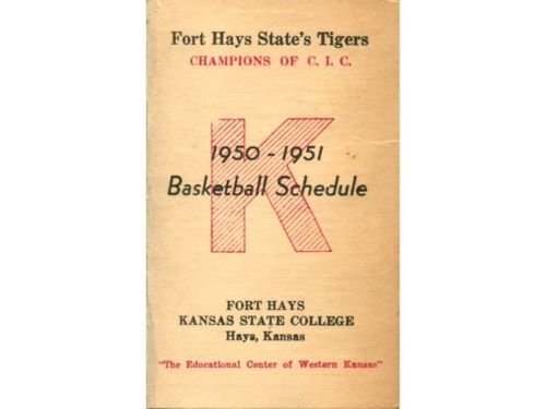 Fort Hays State's Tigers 1950-1951 Basketball Schedule