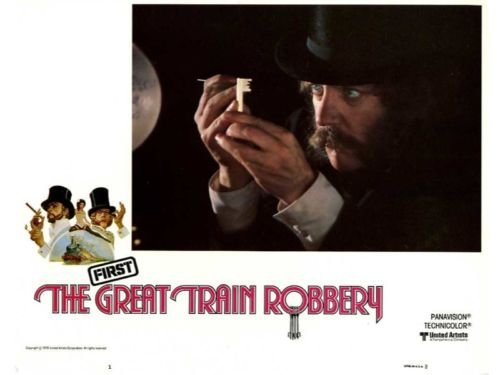 Great Train Robbery British Lobby Card Set Connery