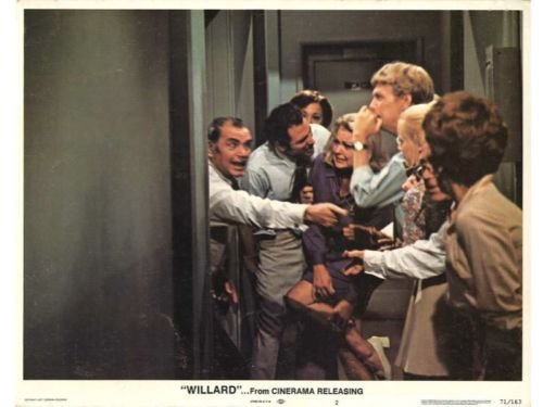 WILLARD Lobby Card set Rats Borgnine Horror