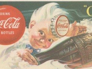 1953 SPRITE COCA-COLA INK BLOTTER VINTAGE
