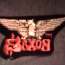 SAXON iron-on PATCH eagle logo VINTAGE