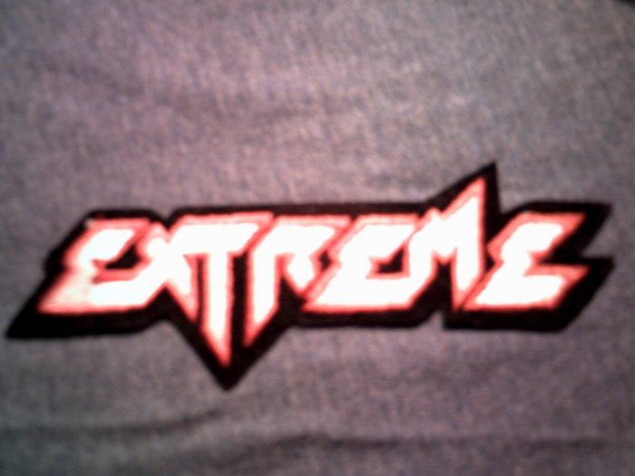 EXTREME iron-on PATCH color logo nuno VINTAGE