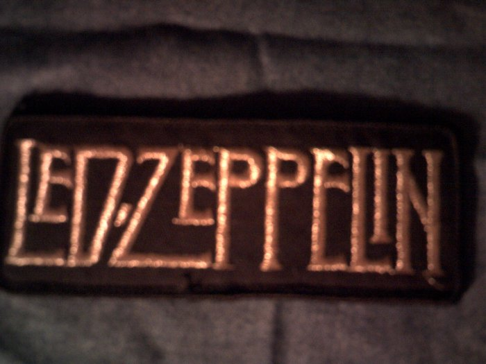 LED ZEPPELIN iron-on PATCH logo VINTAGE