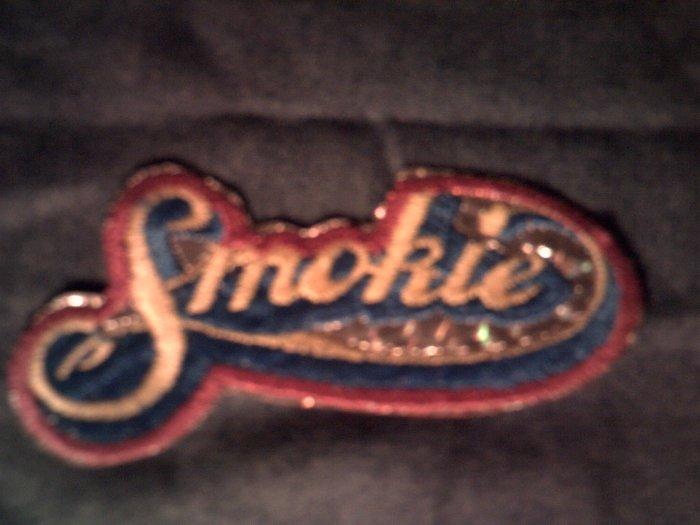 SMOKIE iron-on PATCH prism logo VINTAGE 70s!