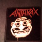 ANTHRAX iron-on PATCH Not Man square VINTAGE