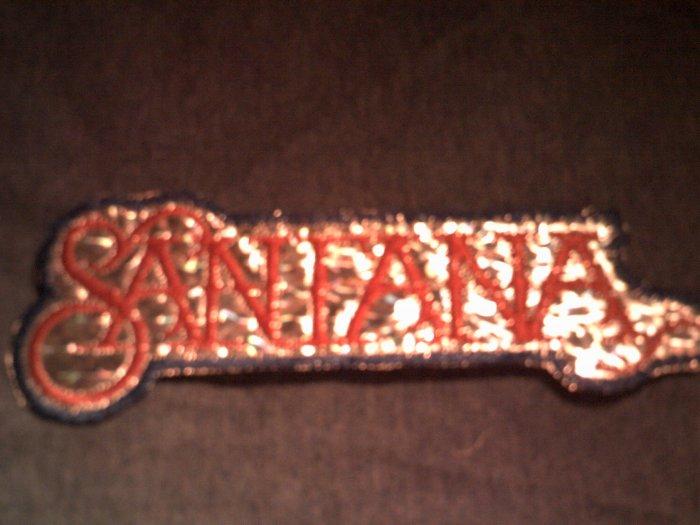 SANTANA iron-on PATCH prism logo carlos VINTAGE 70s!