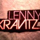 LENNY KRAVITZ iron-on PATCH color logo VINTAGE