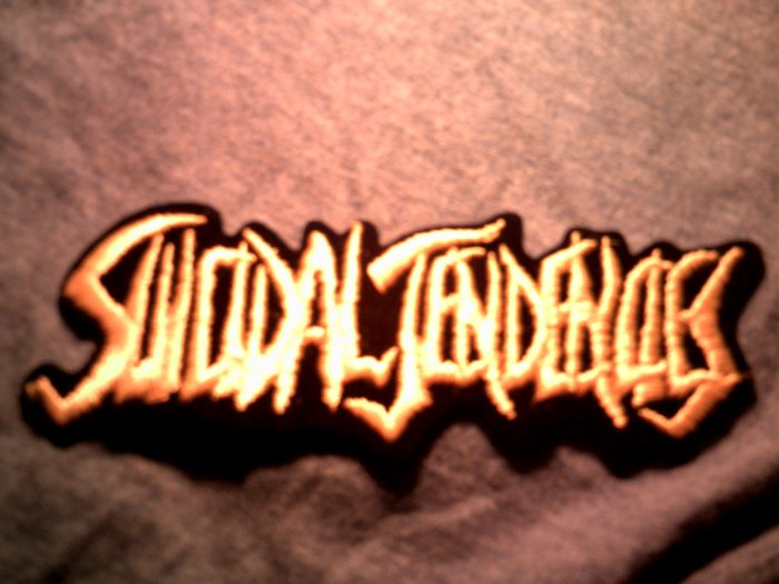 SUICIDAL TENDENCIES iron-on PATCH classic logo VINTAGE