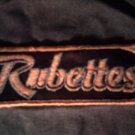 RUBETTES iron-on PATCH logo VINTAGE 70s!