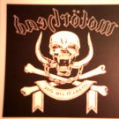 MOTORHEAD DECAL not STICKER March or Die album art VINTAGE