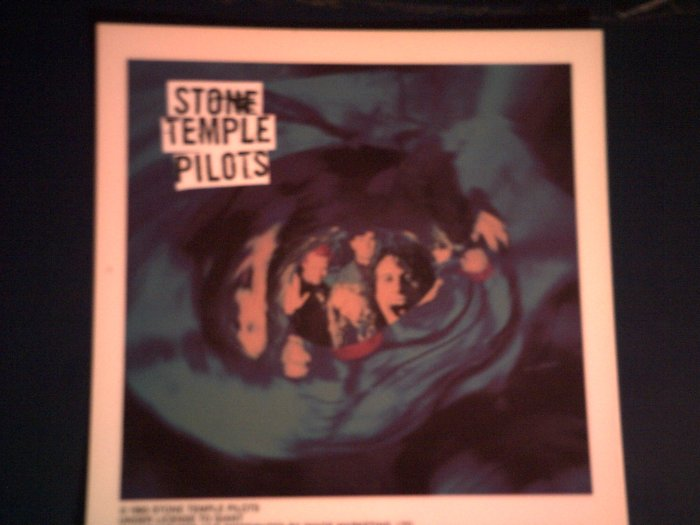 STONE TEMPLE PILOTS DECAL not STICKER stp band pic VINTAGE
