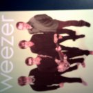WEEZER POSTCARD color band pic green IMPORT