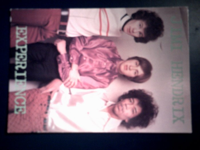 JIMI HENDRIX EXPERIENCE POSTCARD color band pic IMPORT