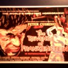 REVENGE OF FRANKENSTEIN POSTCARD Peter Cushing hammer poster IMPORT