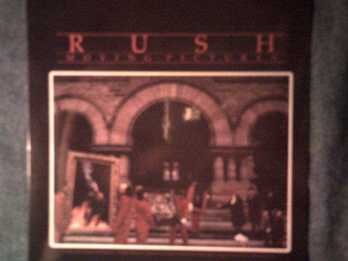 RUSH STICKER Moving Pictures album art NEW!
