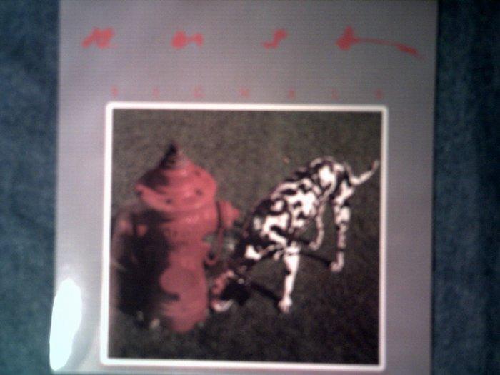 RUSH STICKER Signals album art dalmation NEW!