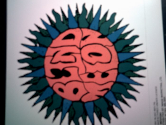 BLIND MELON STICKER sun logo VINTAGE