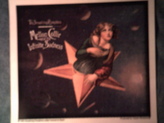 THE SMASHING PUMPKINS STICKER Mellon Collie and the Infinite Sadness