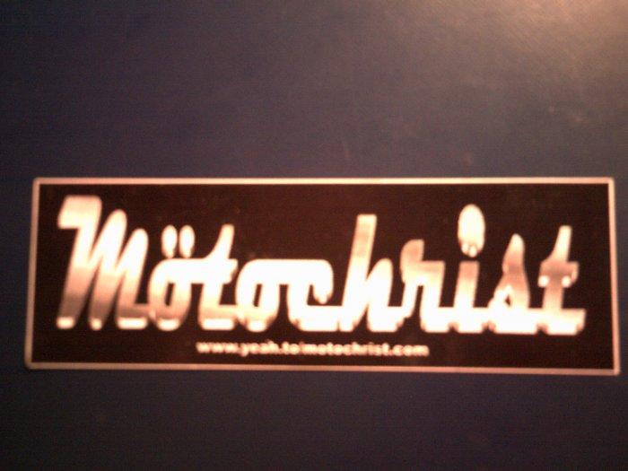 MOTOCHRIST STICKER logo PROMO SALE